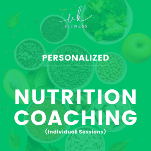 individual nutrition coaching session