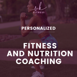 personalized fitness and nutrition coaching